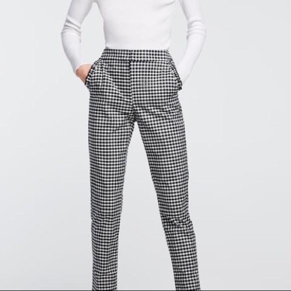 Zara Checked Trouser